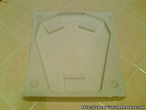 Разгрузочная плита своими руками для подводного6