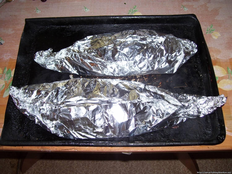 Запеченная рыба в фольге рецепт пошагово в