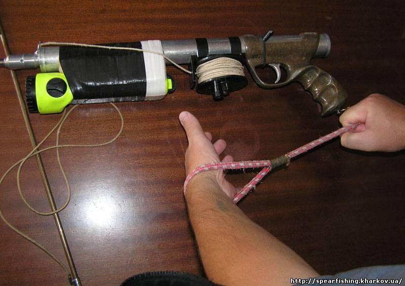 Как сделать ружье для подводной рыбалки своими руками 90